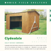 Mobile field shelters literature